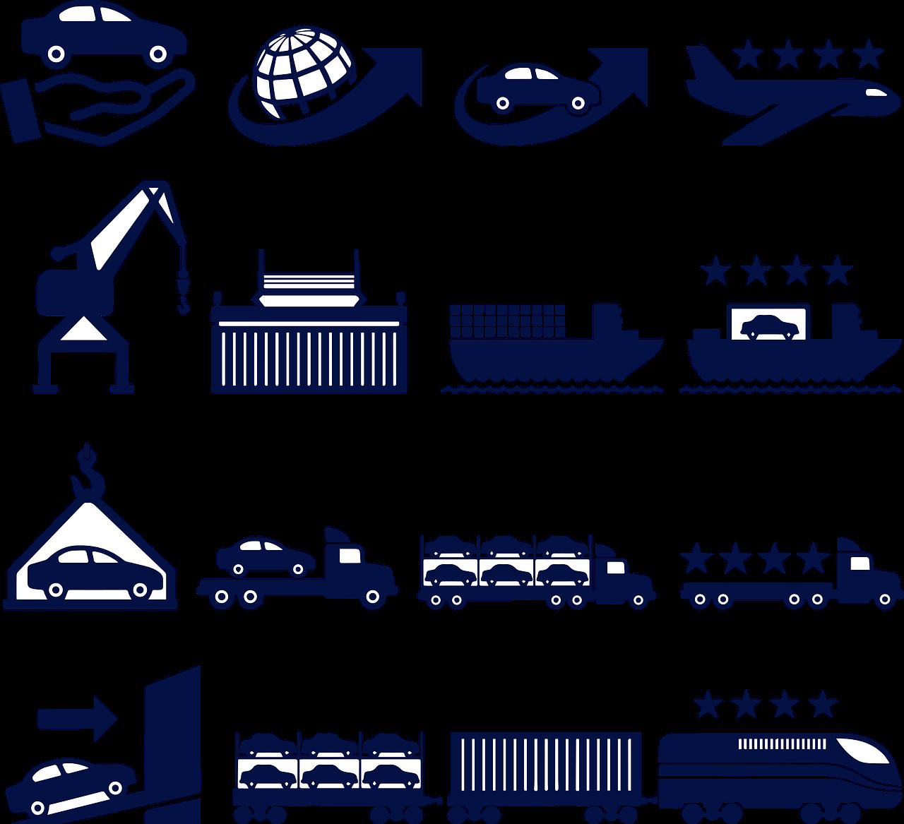 Weltweite Handelsketten umspannen den Planeten