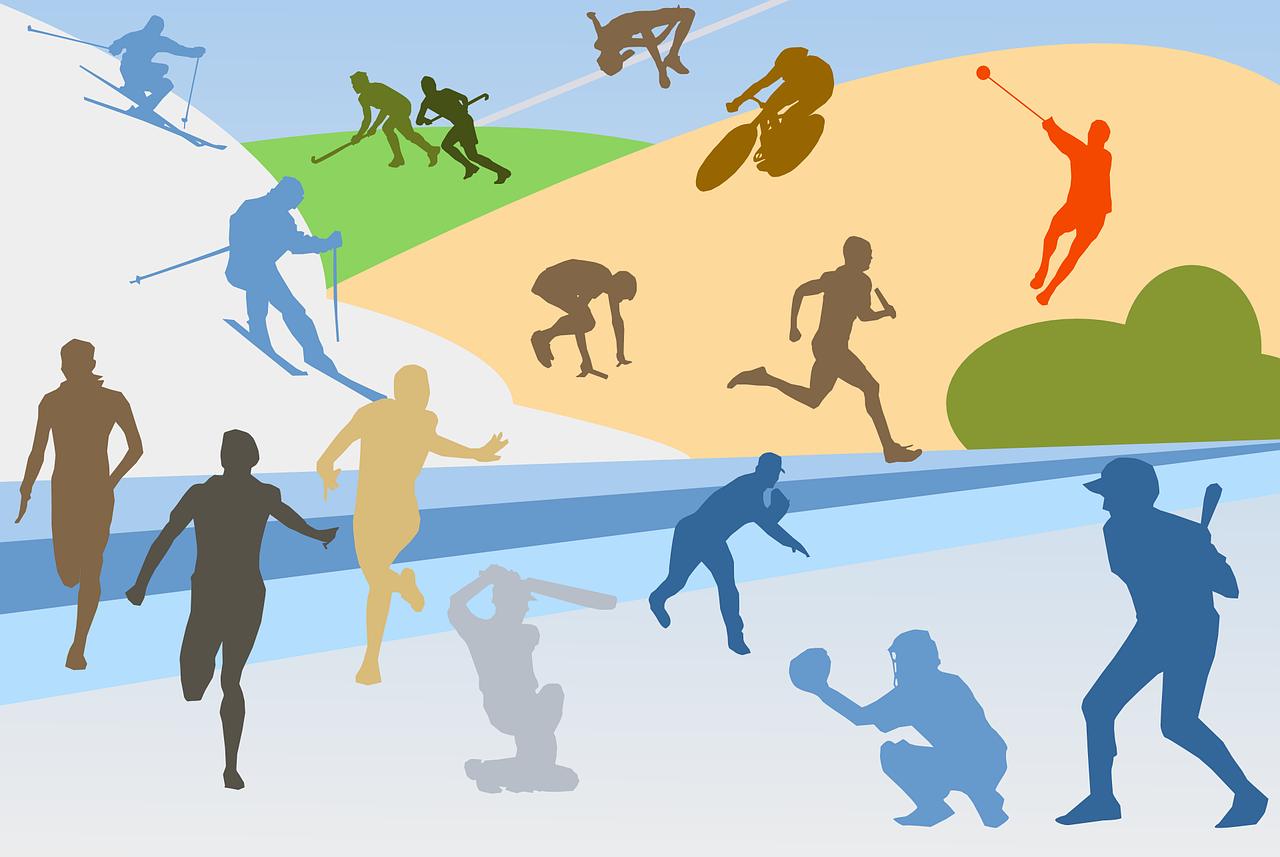 Fun und Entertainment mit verschieden Sportspielgeräten